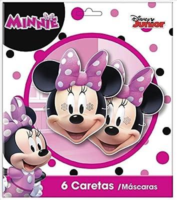 NUEVO en 2018: 6 Fiesta de caretas Minnie Mouse * para ...