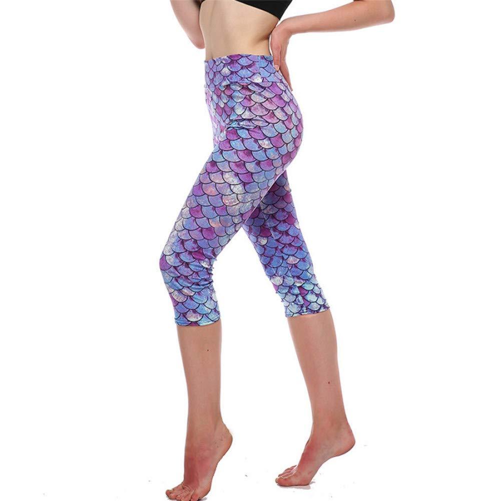 YUYOGAP Frauen hohe Taille Yogahosen Sport beiläufige geerntete Yogahosen drücken Leggings Yogahosen Frau schnell trocknend