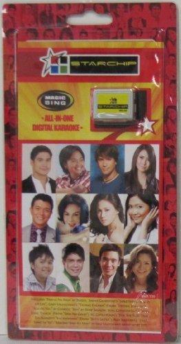 Magic Singalong Song Chip - STARCHIP (Tagalog + - Wow Magic Sing Karaoke Chips