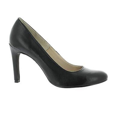 ccc4720e800 Pao Escarpins Cuir Noir  Amazon.fr  Chaussures et Sacs