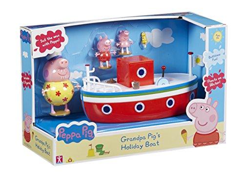 Peppa Pig - Pph01 - Vacances - Le Bateau Avec 3 Personnages