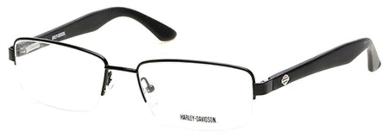 ハーレーダビッドソンEyeglasses hd0731 002マットブラック56 mm   B017ITH8VO