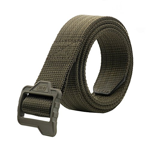 (M-Tac Tactical Belt - Double Duty Belt - Web Belt (Olive, XXL)