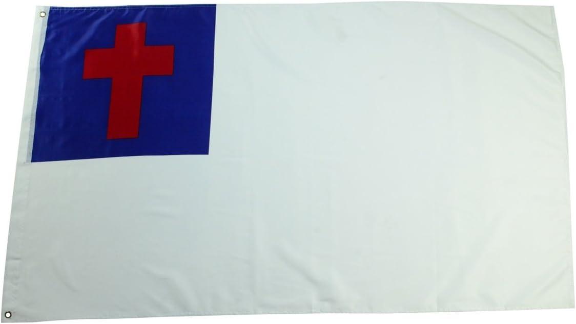 3x5 Ft Christian Purity Sewn Flag 3 X 5 Religious Cross Yard Banner Amazon Co Uk Garden Outdoors