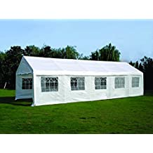 Quictent 32'x20' Heavy Duty Outdoor Canopy Gazebo Party Wedding Tent Carport Shelter