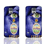 Andream Gift - S5 Plastic Case - Kansas - Durable Unique Design Diy Hard 3D Case Cover Rough Skin for Samsung Galaxy S5 i9600