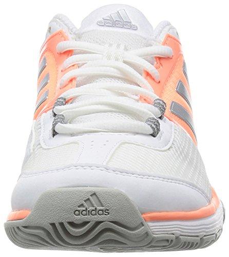 S16 Matte White Silver Glow Blanco Tennis Barricade Ftwr adidas Weiß Shoes Club Women's Sun 8qFnRzO
