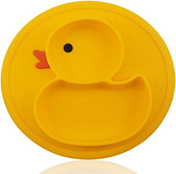 para beb/é amarillo amarillo Plato de succi/ón para peces