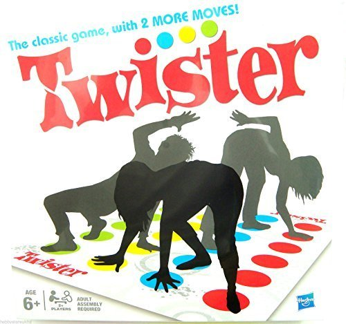 Twister Game Board Classic Twister Board Game Outdoor Indoor Multiplayer Family Party Game New