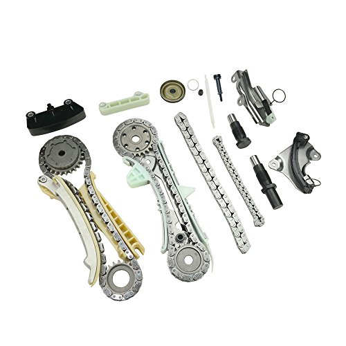 MOCA Timing Chain Kit with Sprocket and Guide Set for 97-10 Ford Explorer & 01-08 Ford Ranger & Mazda B4000 4.0L V6