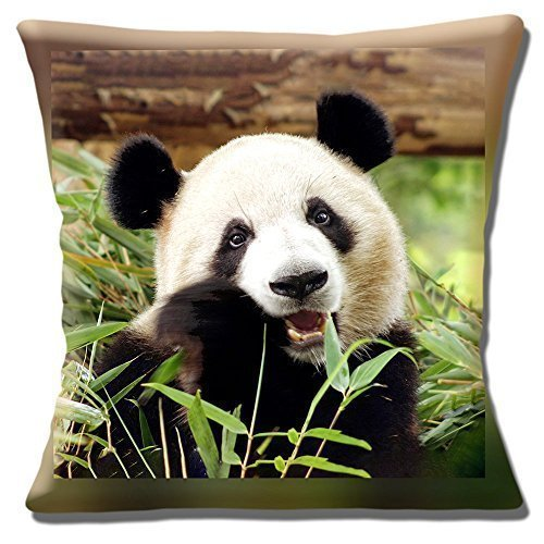 BONITA oso panda gigante comer Bambú Foto Estampada - 16 ...