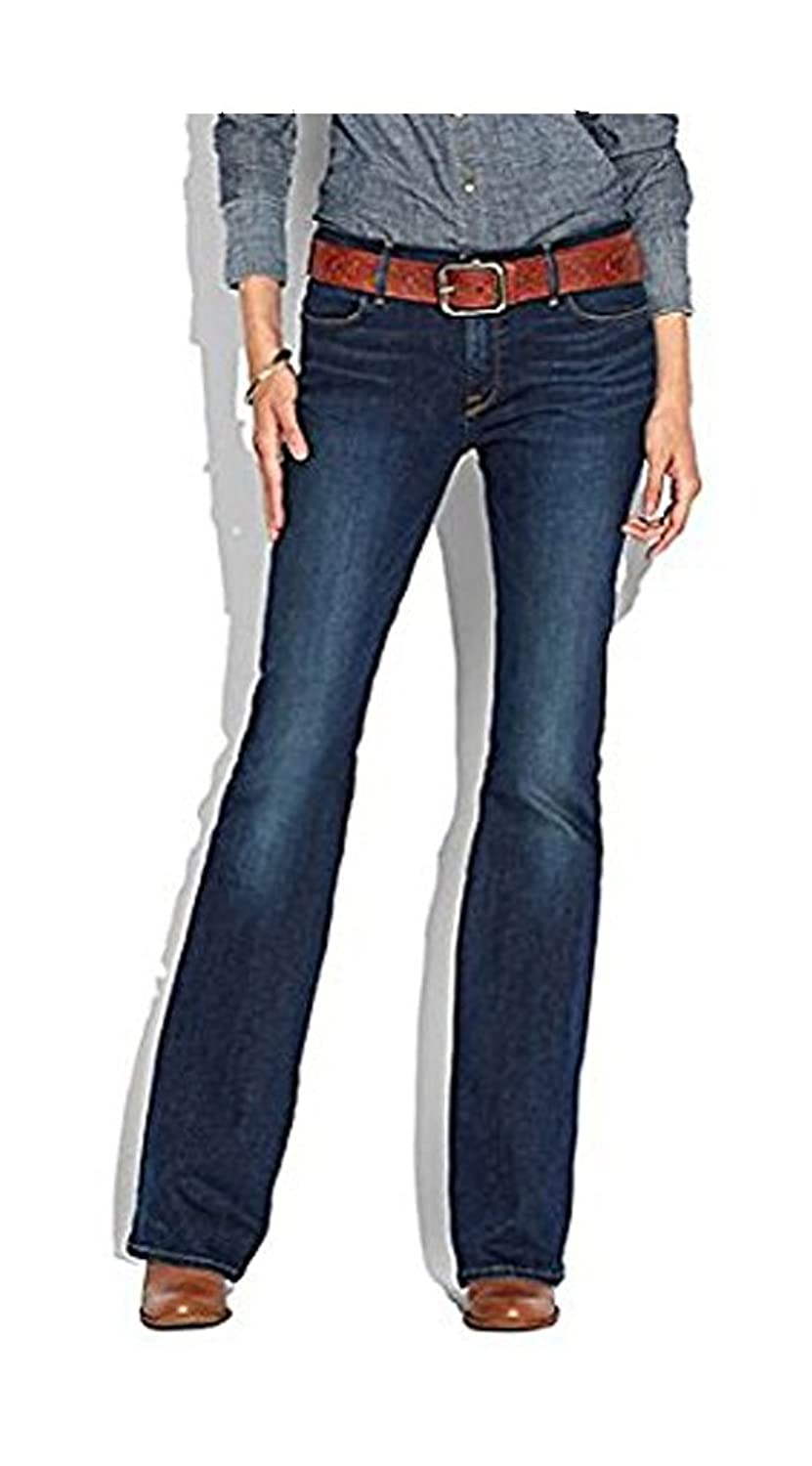 Lucky Brand Charlotte Kick Flare Jean High-Rise Women's Jeans, Dark Wash, Size 29