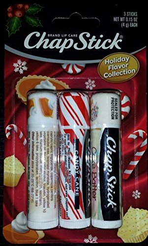 Chapstick Holiday Flavor Collection - Pumpkin Pie, Candy Can