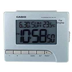 Casio DQ-747-8DF Digital Clock with Thermometer
