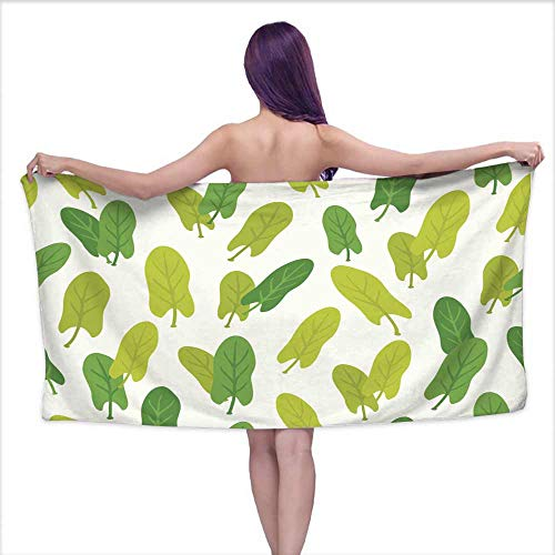 Hariiuet Sports Towel Seamless Pattern with Sorrel,W28 xL55 for Beach