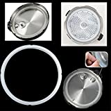 Tacoli- Rubber Gasket For Pressure Cooker-Pressure Cookers White Silicone Rubber Gasket Sealing Ring Pressure Cooker Seal Ring Kitchen Cooking Tools Accessories