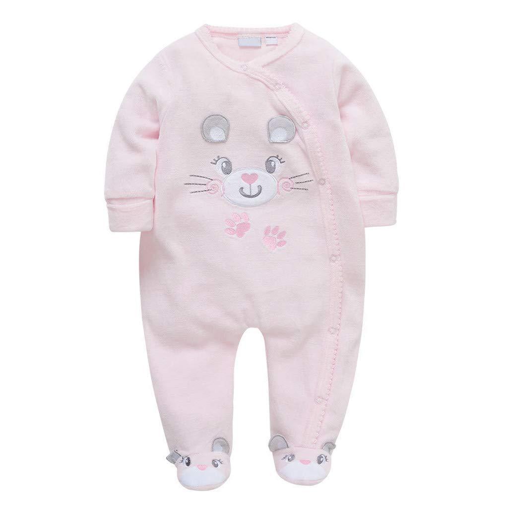 Baby Girls One-Piece Rompers Pop Newborn Baby Kids Boy Girl Romper Jumpsuit Bodysuit Outfit Set