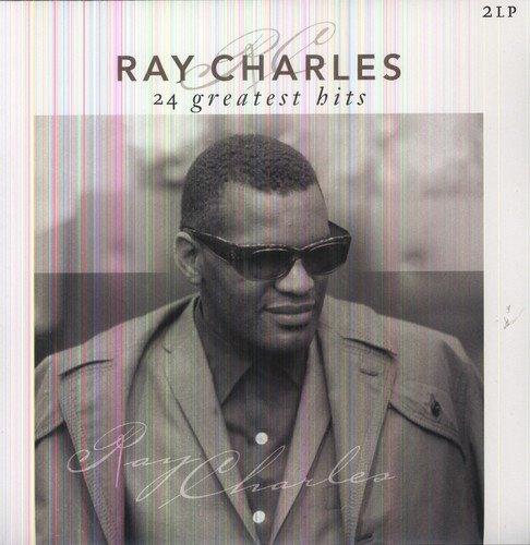 Vinilo : Ray Charles - 24 Greatest Hits (Holland - Import, 2 Disc)
