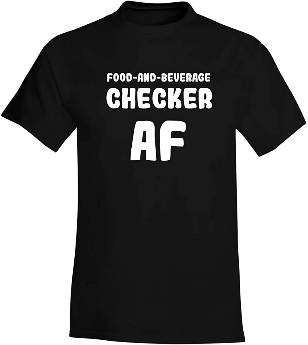 Food-And-Beverage Checker AF - A Soft & Comfortable Men's T-Shirt