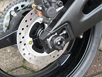 Satz Gsg Moto Sturzpads Hinterrad Passend Für Die Honda Cbr 600 Rr Pc40 07 08 Auto