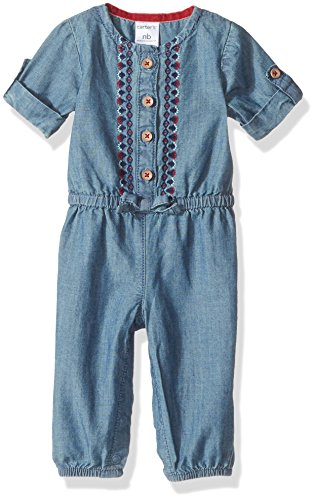 Carters Baby Girls Jersey Jumpsuit