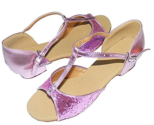 Colorfulworldstore - Zapatillas de danza para mujer, color multicolor, talla 36