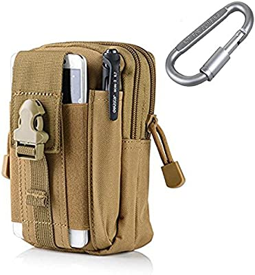 Military Map Camera Pocket Large Tactical Molle Pouch Waist Bag Organizer