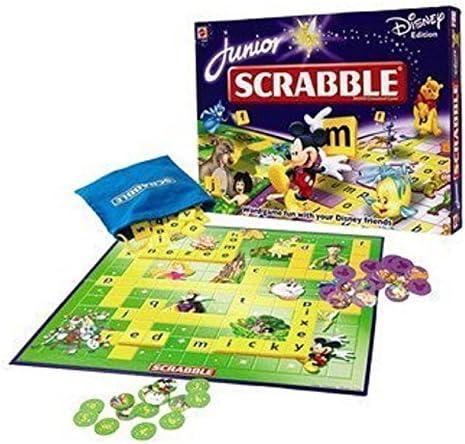 Junior Scrabble - Disney Edition by Mattel: Amazon.es: Juguetes y juegos