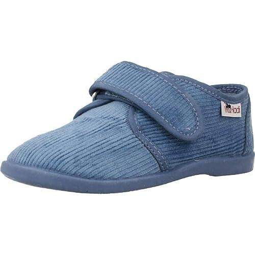 Zapatillas niños de Estar por casa, Color Azul, Marca VULLADI, Modelo Zapatillas Niños De Estar por Casa VULLADI 1807 019 Azul: Amazon.es: Zapatos y ...