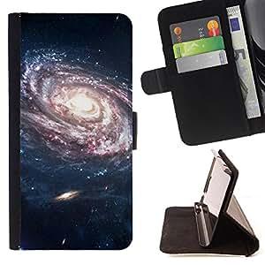 King Case - FOR Sony Xperia Z1 L39 - take the ones you miss - Prima caja de la PU billetera de cuero con ranuras para tarjetas, efectivo Compartimiento desmontable y correa para la mu?eca