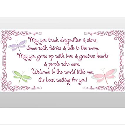 May You Touch Dragonflies Stars Dance With Fairies Talk Moon Quote Removable Vinyl Wall Sticker Saying