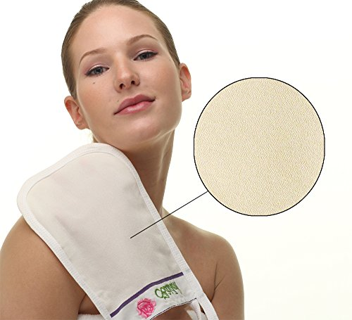 Baiden Mitten Superior Exfoliator Glove,Facial, Body Scrub,Best Firming Dry Skin Treatment,Repair Wrinkles Remove Blackheads Scars,Professional Grade (1pack)