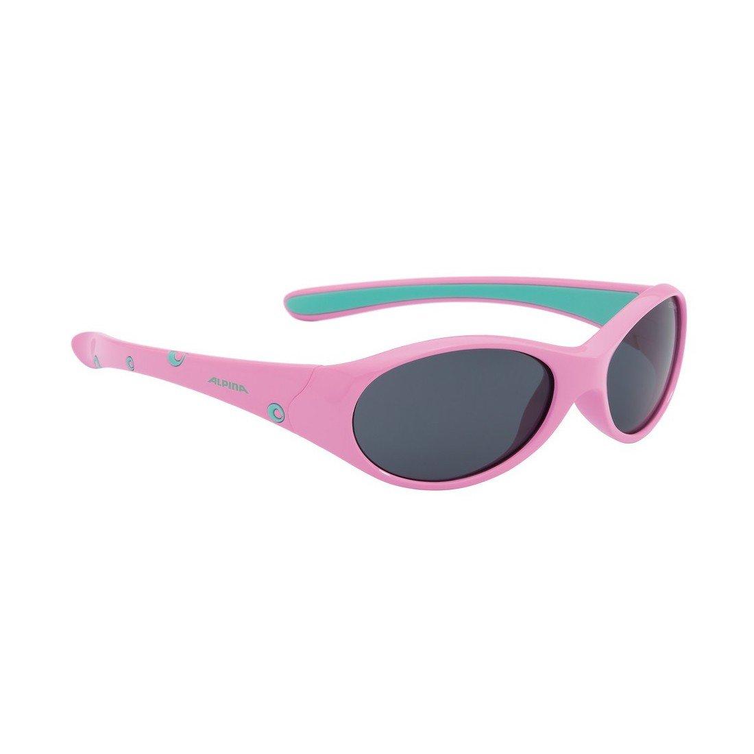 Alpina Flexxy Girl's Sunglasses Pink Fassung: Pink-Rose; Gläser: Black S3 Size:- ALPJK|#ALPINA A8494351370