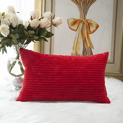 Brilliant Valentines Decorative Corduroy Pillowcase