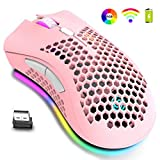 Wireless Lightweight Gaming Mouse, RGB Backlit