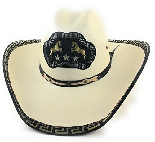 Sombrero Charro (Cowboy Rodeo Hat. Sombrero Vaquero De Lona.)