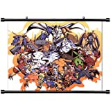 Digimon Anime Fabric Wall Scroll Poster (32 x 25) Inches