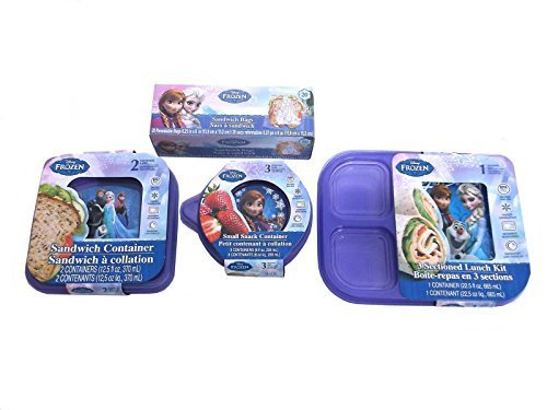 Disney Frozen Lunch Container Deluxe Set