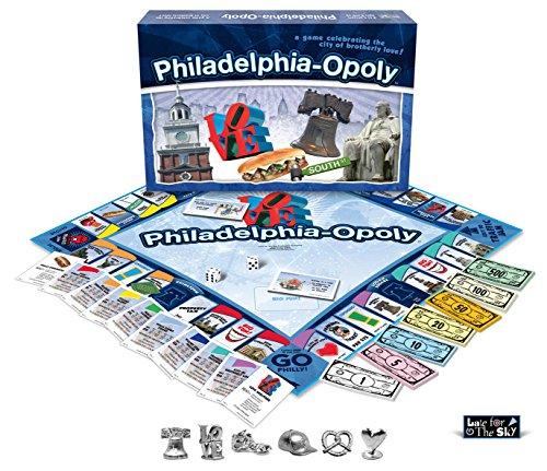 Philadelphia-opoly (Monopoly Eagles Philadelphia Toy)