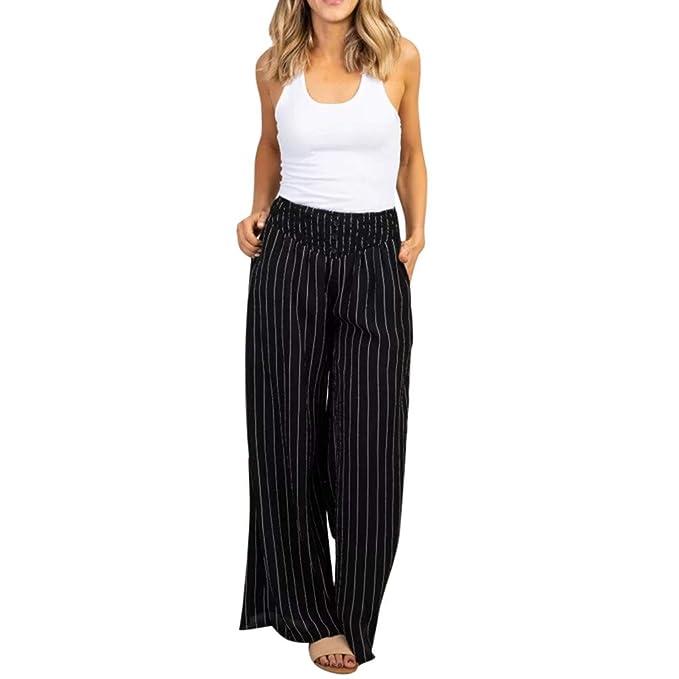 Amazon.com: Women\'s Flare Pants Chino Short High Waist Ultra ...