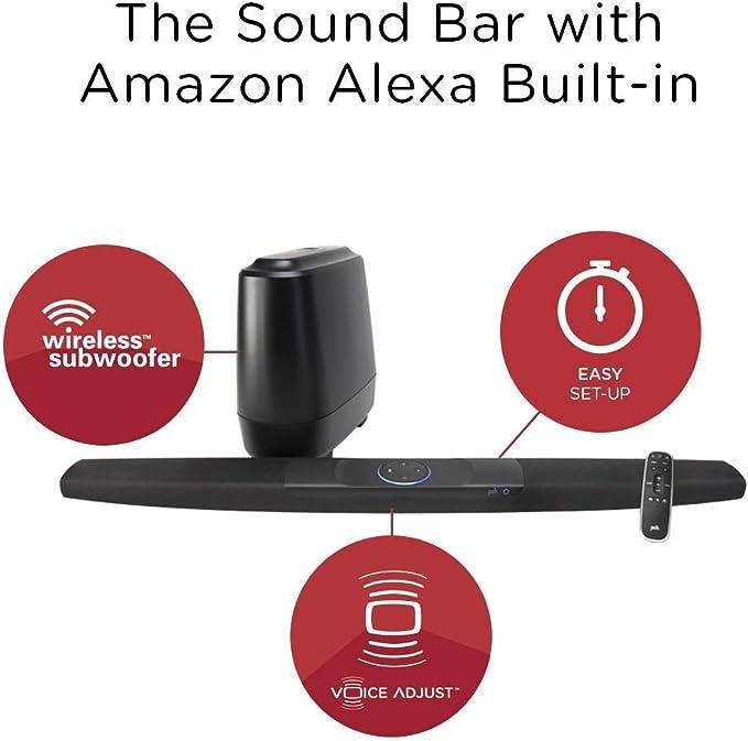 Electronics Sound Bars 4K HDMI Polk Audio Command Sound Bar with ...