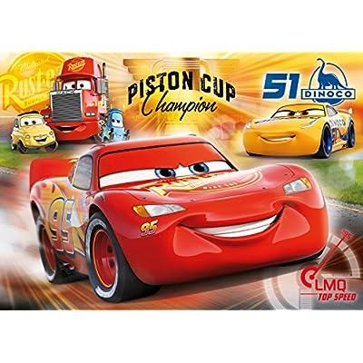 Clementoni Cars 3 Supercolor Puzzle Maxi 60 Pezzi 26424