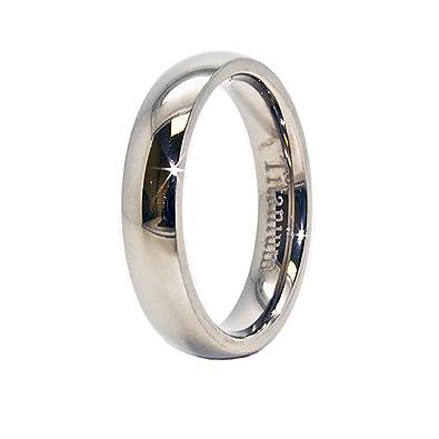 Bridal & Wedding Party Jewelry Impartial Titanium Black Rubber Flat 8mm Brushed Wedding Ring Band Size 6.50 Type Of Engagement & Wedding