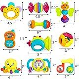 iPlay, iLearn 10pcs Baby Rattles