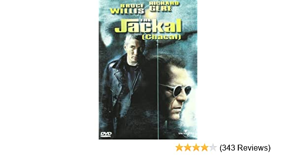 Amazon.com: Bruce Willis, Richard Gere, Diane Vendre, Sidney Poitier - The Jackal (Chacal) [Import espagnol] (1 DVD): Movies & TV