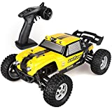 100 mph battery for rc cars - Wisleo Waterproof RC Car 1:12 Scale 4WD High Speed Electric Buggy Remote Control Off Road Monster Truck with LED Lights