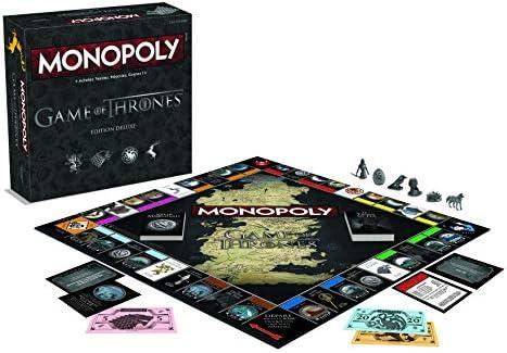 Winning Moves Monopoly Game of Thrones Deluxe, 0420, Version Francesa: Amazon.es: Juguetes y juegos