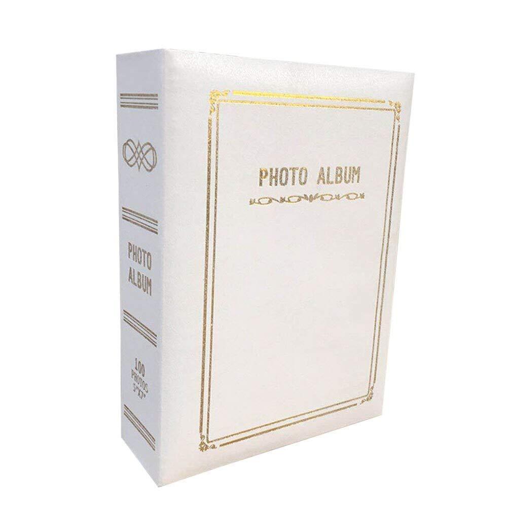 WJSWX Album Retro Photo Album Leatherette Paper Album Insert Page Photo Storage Album Unique Photo Album Storage for Woman Girl