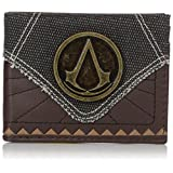 Bioworld Men's Assassins Creed Suit Up Bi-fold Wallet, brown, One Size