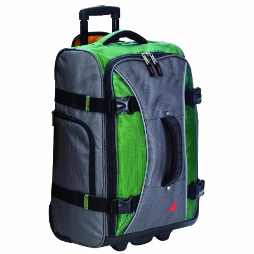 Soft Carry On (Athalon Luggage 21 Inch Hybrid Travelers Bag, Grass Green, One)